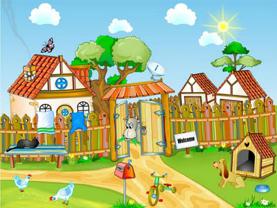 Click to view Farm Yard Screensaver 1.0 screenshot