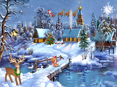 Click to view Christmas Symphony Screensaver 1.0 screenshot