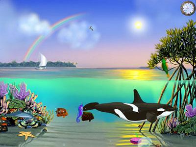 Tropical Aquaworld Screensaver