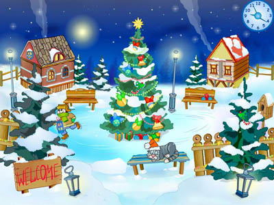Click to view Christmas Yard Screensaver 1.0 screenshot